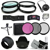Ultra Fine 67mm Filters Accessory Kit for CANON EOS 70D 60d 60Da 7D 6D 5D 7D Mark II 5D Mark II 5D Mark III EOS REBEL T5 T5i T4i T3 T3i T2i T1i EOS M
