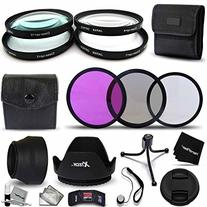 Xtech Ultra Fine 58mm Filters Accessory Kit with 58mm Close-