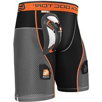 Shock Doctor Men's Ultra Hybrid Hockey Shorts with Ultra
