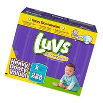 Luvs Ultra LeakGuard Diapers, Size 2  228 ct