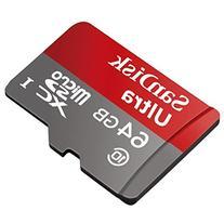 Professional Ultra SanDisk 64GB MicroSDXC card is custom