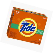 Tide Mountain Spring HE Turbo Powder Laundry Detergent, 68