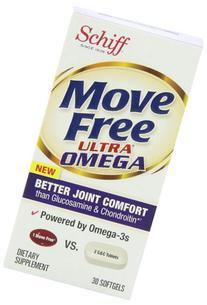 Move Free Ultra Omega Joint Supplement with Omega 3 Krill