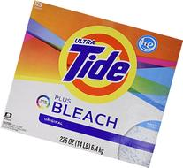 Tide Ultra Plus Bleach Original Scent Powder, 125 Loads, 225