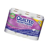 Quilted Northern Ultra Plush 3 Ply Double Rolls 12 Count