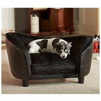 Ultra Plush Snuggle Bed - Color: Black