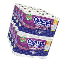 Quilted Northern Ultra Plush Toilet Paper, Double Rolls, 96