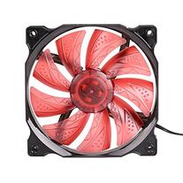 JBtek 120mm Ultra Quiet Desktop Case Cooling Fan, Red