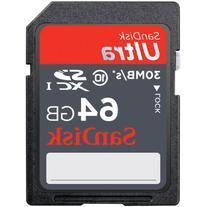 SanDisk Ultra SDXC 64GB Class 10