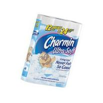Charmin Ultra Soft, Double Roll, , 2 Ply, White-12pk