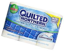 Quilted Northern Ultra Soft & Strong Bath Tissue, 6 Double