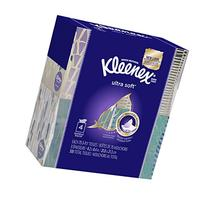 Kleenex Ultra Soft & Strong Facial Tissues, 75 ct, 4 Pack
