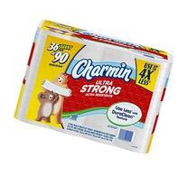 Charmin Ultra Strong Bath Tissue - 36 Giant Rolls