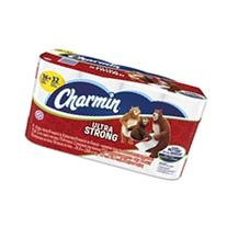 Ultra Strong Bathroom Tissue, 2-Ply, White, 154 Sheets/Roll