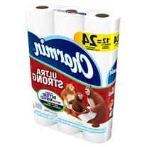 Charmin Ultra Strong Toilet Paper Double Rolls, 12 ea