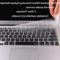 CooSkin Ultra Thin Keyboard Cover Protector for MacBook Pro