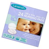 12 x Lansinoh Ultra Thin, Stay Dry 24 Nursing Pads