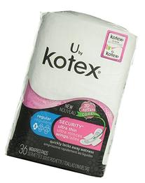 Kotex Ultra Thin Maxi Pads with Wings