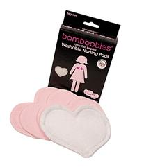 Bamboobies Ultra Soft and Thin Washable Nursing Pads,