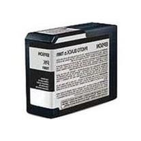 Epson T5801 UltraChrome K3 Photo Black Cartridge Ink