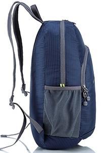 Hikpro Ultralight Packable Travel Backpack - Navy Blue,