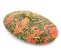 Unakite Palm Stone