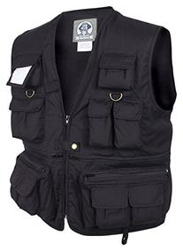 Rothco Uncle Milty Vest, Black, Medium