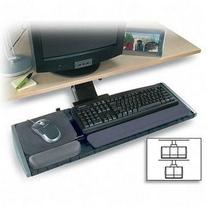 Kensington Underdesk Adjustable Keyboard Platform with Wrist