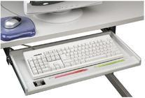 Fellowes Underdesk Keyboard Manager Standard 3 Adjustable