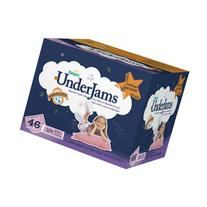 Pampers UnderJams Absorbent Nightwear Size 7, Big Pack Girl