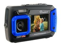 Ivation 20MP Underwater Shockproof Digital Camera & Video
