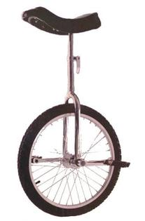 "Fun Blue 20"" Unicycle with Alloy Rim"
