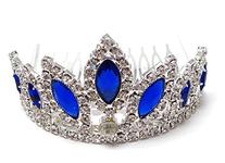 Unique Wedding Flower girl Crystal Prom Tiara Comb H68