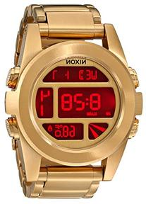 Nixon Unisex The Unit SS All Gold Watch One Size