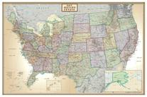 24x36 United States, USA US Executive Wall Map Poster Mural