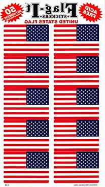 United States Country Stickers