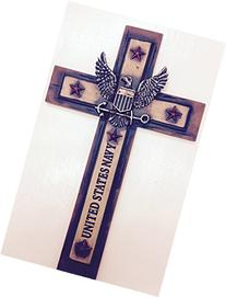 "United States Navy Cross 12""x 7"" Military Wall Hanging Decor"