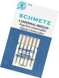 SCHMETZ Universal  5 Household Sewing Machine Needles -
