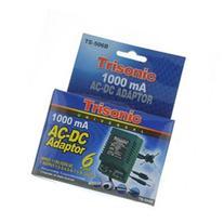 Trisonic Universal 1000mA AC-DC Adaptor 6 Plugs TS-506B