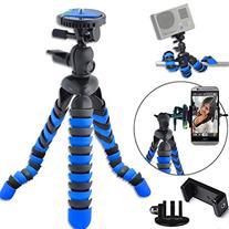"Universal 12"" Inch Digital SLR Flexible Tripod Wrapable Legs"