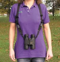 Opticron 25mm Nylon and Leather Binocular Harness with Quick