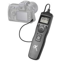 Universal LCD Shutter Release Timer Remote Control + 4 AAA