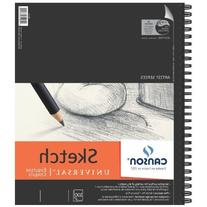 Canson 9-Inch by 12-Inch Universal Sketch Book, 100-Sheet, 2