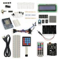 SainSmart UNO R3 Starter Kit with 19 Basic Arduino Tutorial