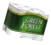 Green Forest Premium 100% Recycled Bathroom Tissue, 352