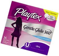 Playtex Unscented Gentle Glide Ultra Tampons 36 Ct