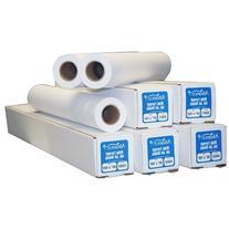 "Alliance Untaped CAD Paper Rolls 24"" x 150 Feet 20# Ink Jet"
