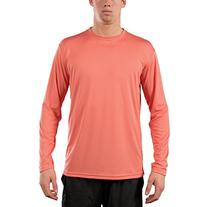 Vapor Apparel Men's UPF Long Sleeve Solar Performance T-