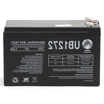 UPG 40760 - UB1272 - AGM Battery - Sealed Lead Acid - 12 Volt - 7.2 Ah Capacity - F1 Terminal