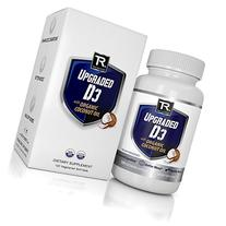 UPGRADED D3 - Vitamin D 2000iu W/Organic Coconut Oil -